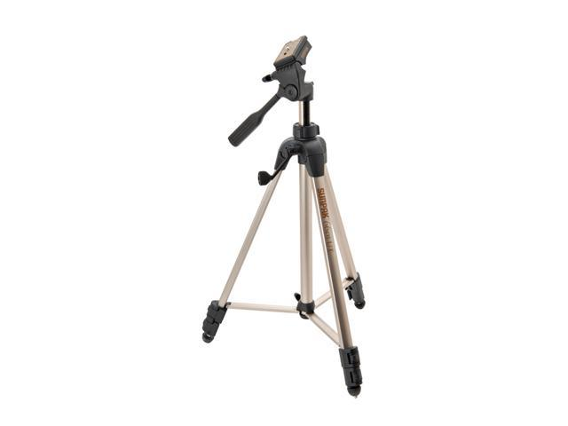 SUNPAK 6601UT Tripod with 3-Way Panhead, Bubble Level and Quick-Release
