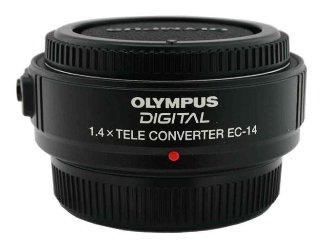 OLYMPUS EC14 1.4x Teleconverter Lens Black