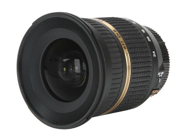 TAMRON SP AF10-24mm F/3.5-4.5 Di-II LD Aspherical (IF) Lens for Nikon
