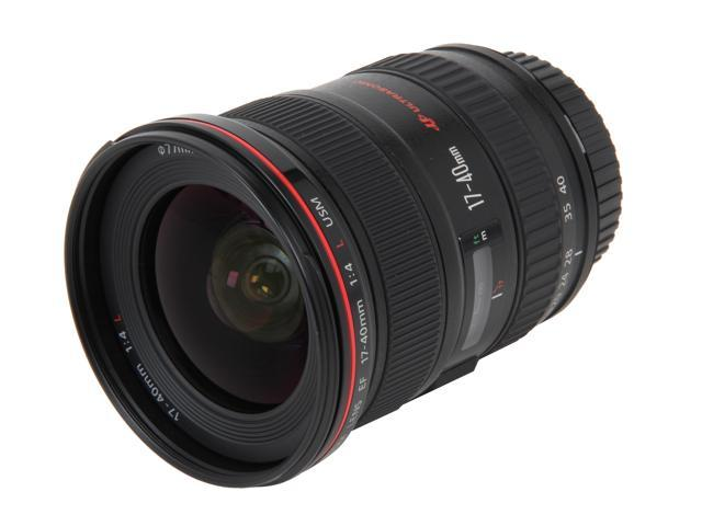Canon 8806A002 EF 17-40mm f/4L USM Ultra-Wide Zoom Lens