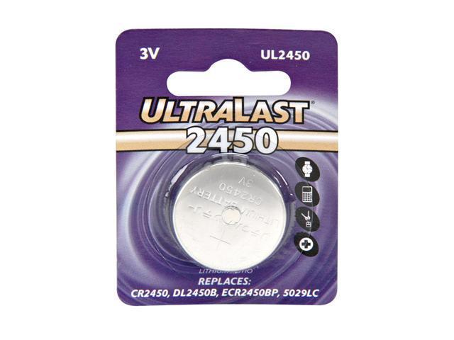 ULTRALAST UL-2450 3V Lithium DC Cell Battery