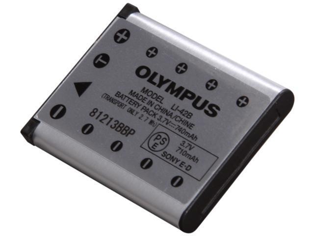 OLYMPUS LI-42B 1-Pack 710mAh Li-Ion Rechargeable Battery
