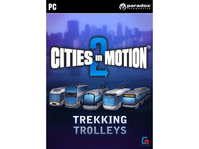 Cities in Motion 2: Trekking Trolleys (DLC) [Online Game Code]