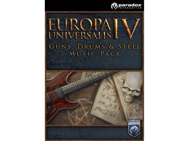 Europa Universalis IV: Guns, Drums and Steel music pack [Online Game Code]
