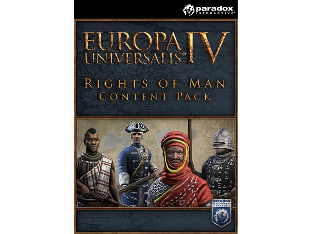 Europa Universalis IV: Rights of Man Content Pack [Online Game Code]