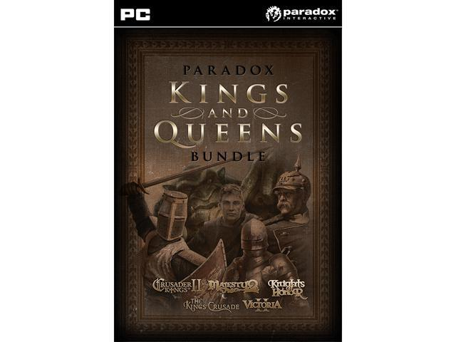 Paradox Kings and Queens Bundle [Online Game Code]