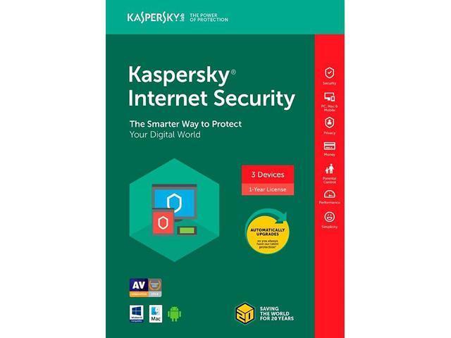 Kaspersky Internet Security 3 Devices 2018 Download