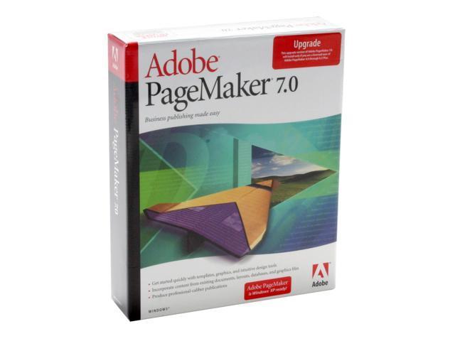Adobe PageMaker 7.0.2 Upgrade for Windows
