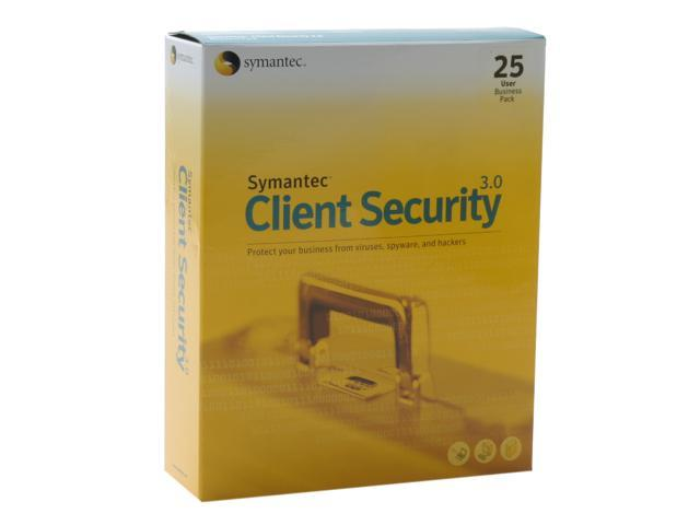 Symantec Client Security 3.0 w/ 25 Users
