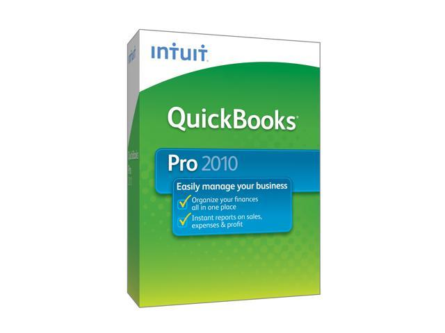 Intuit Quickbooks Pro 2010