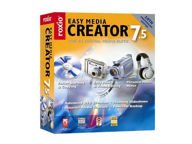 Roxio easy media creator 9 windows 7