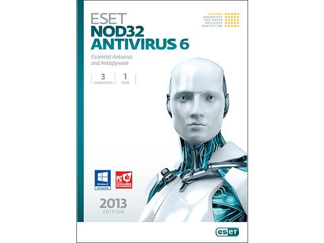 ESET Nod32 Antivirus 6 - 3 PCs - Download