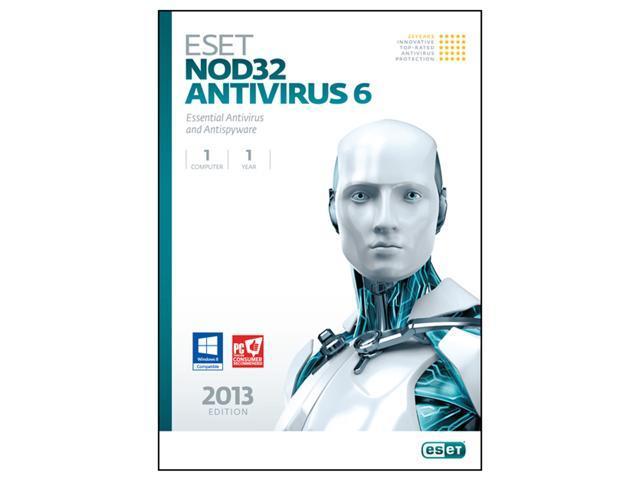 ESET Nod32 Antivirus 6 - 1 PC