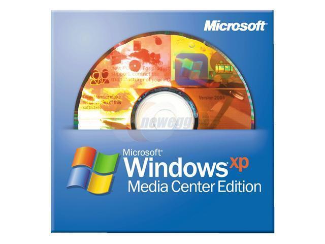 Microsoft Windows XP Media Center 2005 SP2B for System Builders - OEM