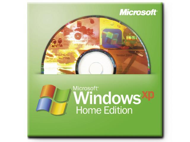 Microsoft Windows XP Home With SP2B for System Builders 1 Pack - OEM