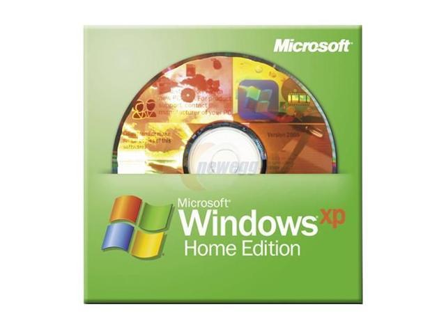 Microsoft Windows XP Home With SP2B 3 Pack for System Builders