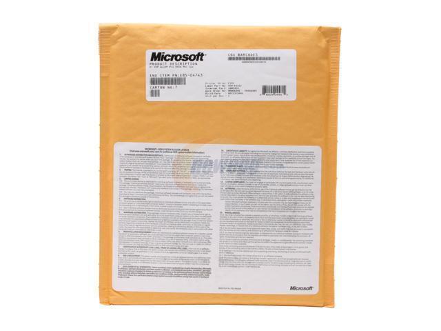Microsoft Windows XP Professional Multilingual SR2 w/SP2B 1 Pack