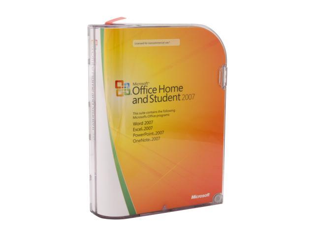 microsoft office home and student 2007 licensed for 3 pcs software