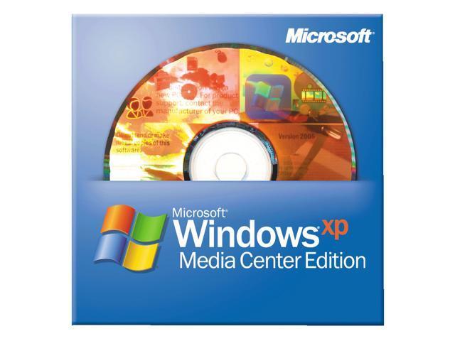 Windows XP media Center 2005 OEM 19