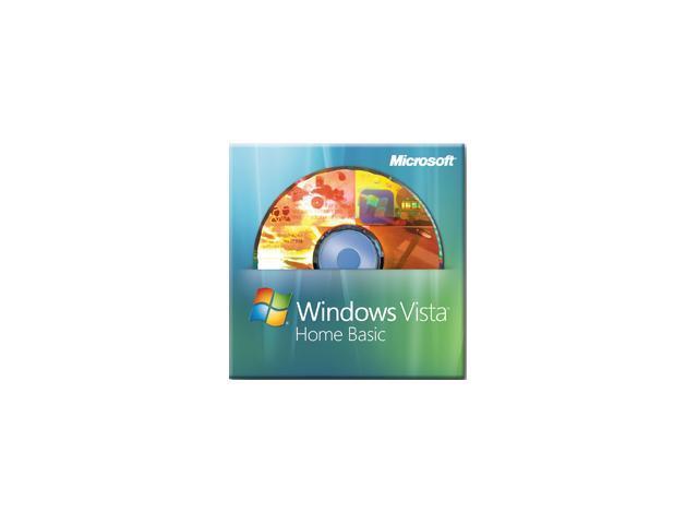 Microsoft Windows Vista 32-Bit Home Basic for System Builders 3 Pack DVD