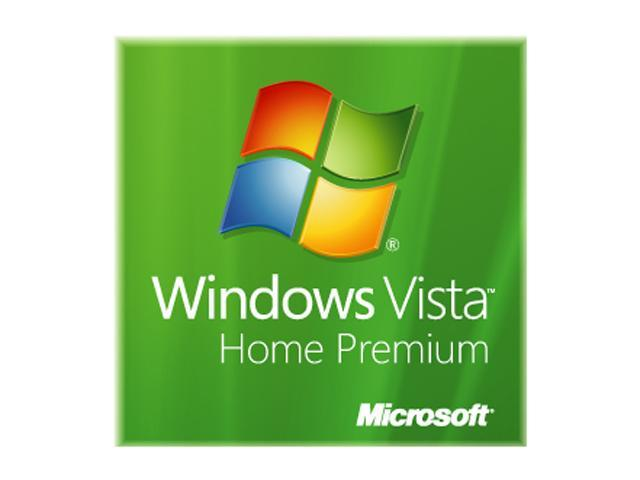 Microsoft Windows Vista Home Premium 32-bit 3 Pack for System Builders