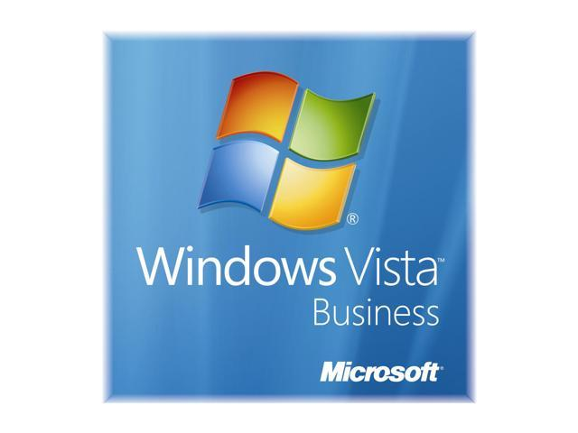Microsoft Windows Vista 32-Bit Business for System Builders Single Pack DVD