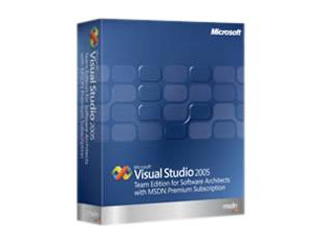 Microsoft Visual Studio 2005 Team Edition for Software Architects w/MSDN Premium Renewal