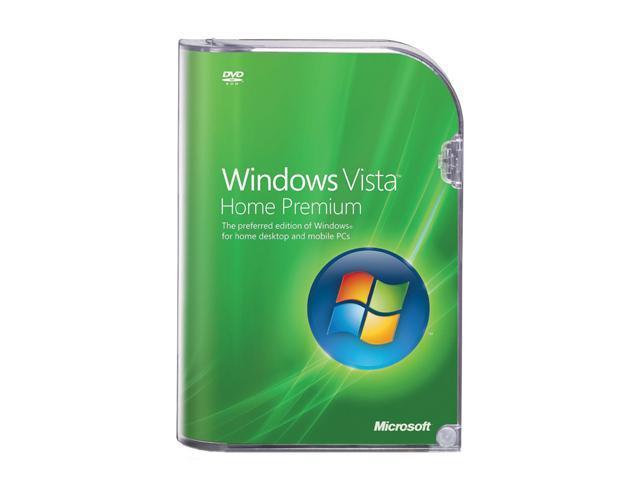 Microsoft Windows Vista Home Premium SP1
