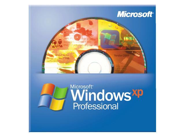 Microsoft Windows XP Professional SP3 32-bit for System Builders - OEM