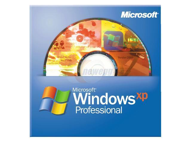 Microsoft Windows XP Professional SP3 3 Pack for System Builders - OEM