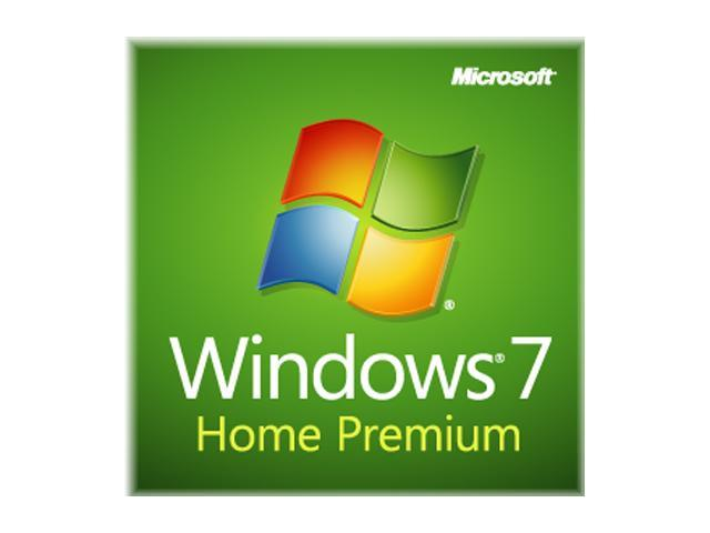 Microsoft Windows 7 Home Premium 64-bit 1-Pack for System Builders - OEM