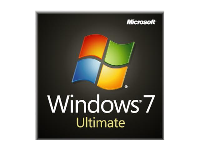 Microsoft Windows 7 Ultimate 64-bit 1-Pack for System Builders