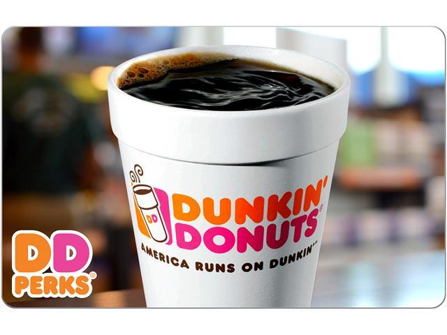 Dunkin Donuts $25 Gift Card (Email Delivery) - Newegg.com
