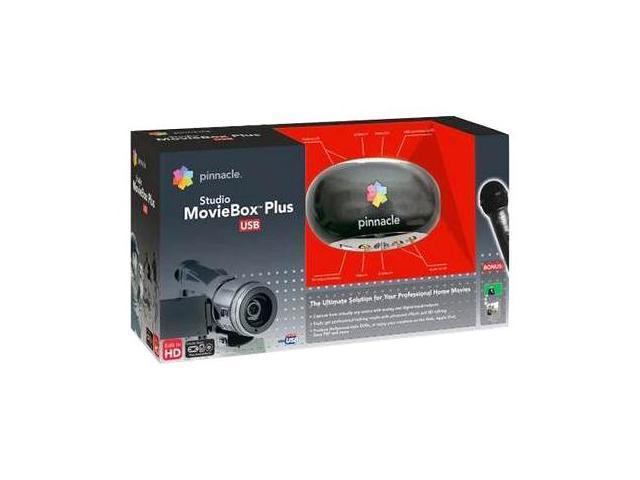 Pinnacle Studio Moviebox Plus USB2 Capture w/Mic and Greenscreen