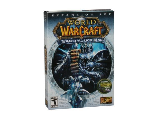 World of Warcraft: Wrath of the Lich King Expansion PC Game