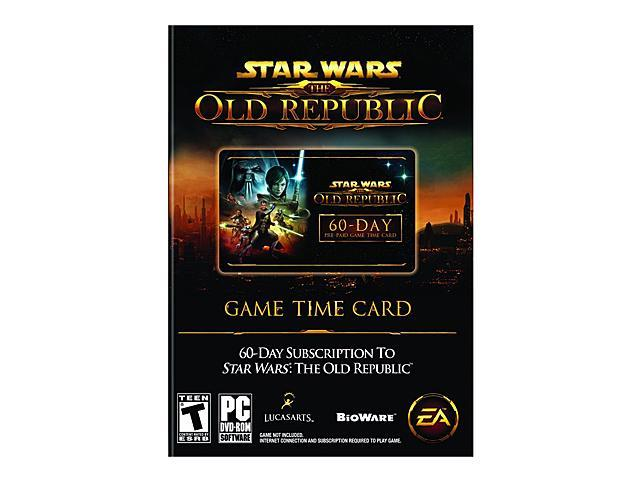 Star Wars: Old Republic 60 Day Prepaid Time Card PC Game