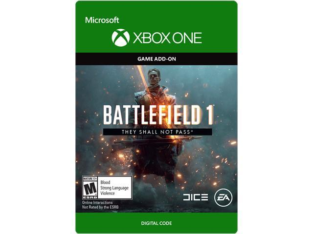 Battlefield 1 They Shall Not Pass Xbox One [Digital Code]