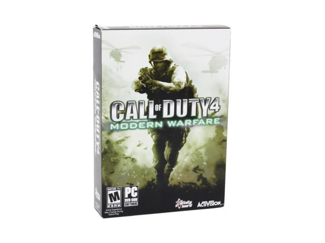 Call of Duty 4: Modern Warfare (Import) PC Game