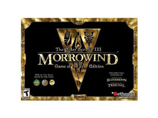 Elder Scrolls 3: Morrowind Game of The Year Edition PC Game