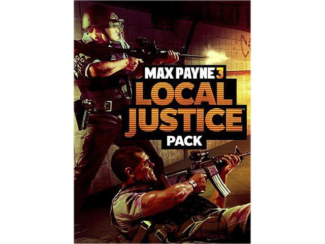 Max Payne 3: Local Justice Pack [Online Game Code]
