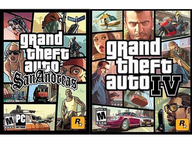 GTA IV/ GTA SA Bundle [Online Game Code]