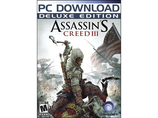 Assassin's Creed III Deluxe Edition (includes DLCs #0 to #5) [Online Game Code]