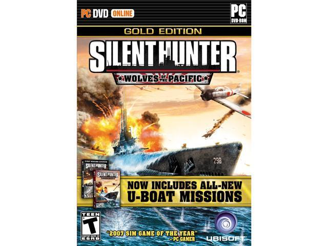 Silent Hunter IV Wolves of the Pacific Gold Edition [Online Game Code]