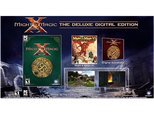 Might & Magic X Legacy Deluxe Edition [Online Game Code]
