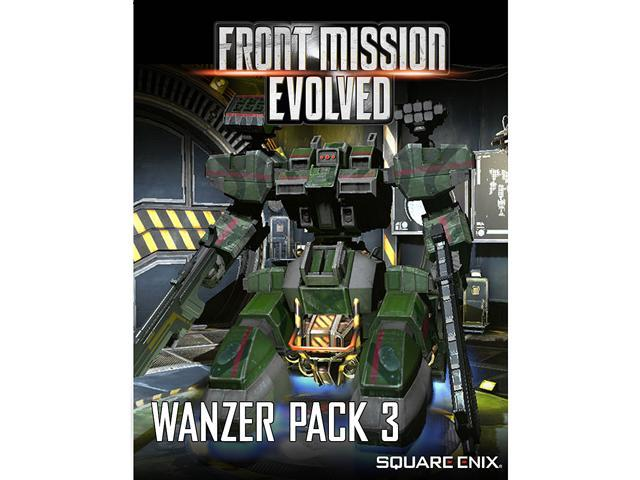 Front Mission Evolved: Wanzer Pack 3 [Online Game Code]