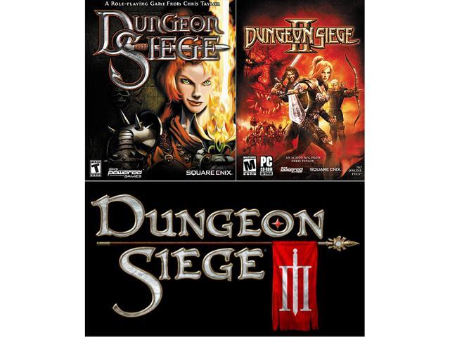 Dungeon Siege Triple Pack (1 + 2 + 3) [Online Game Codes]