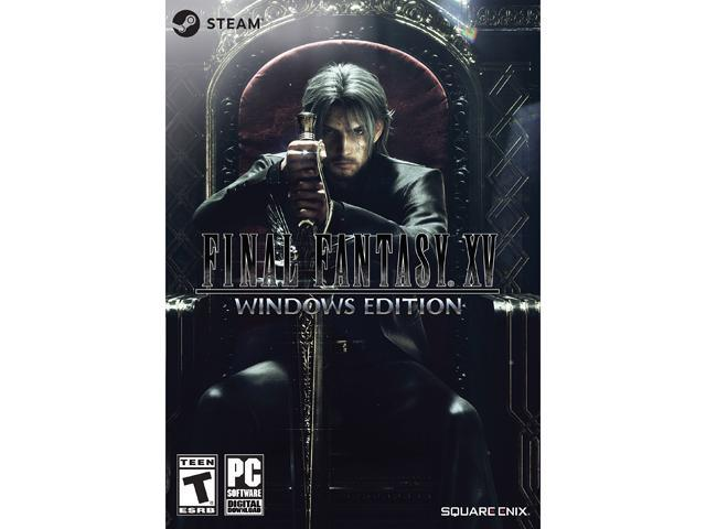 FINAL FANTASY XV Windows Edition Online Game Code Neweggcom - Cleaning invoice template free square enix online store