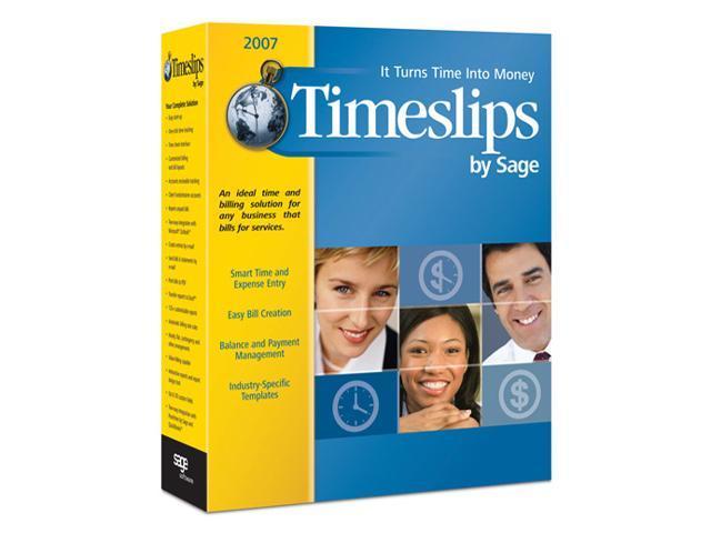 Sage Timeslips 2007
