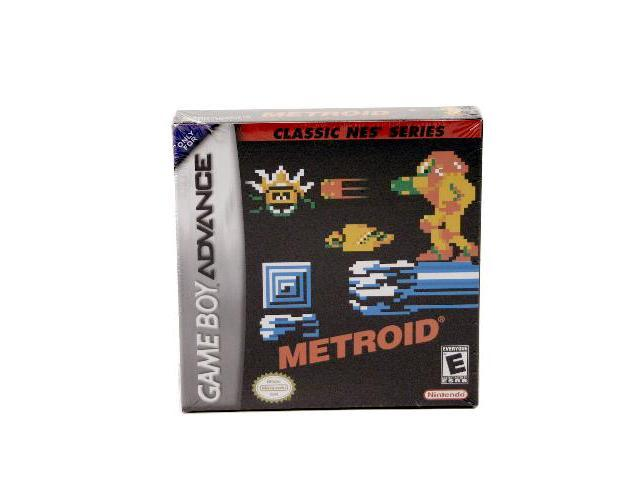 Metroid Classic GameBoy Advance Game Nintendo