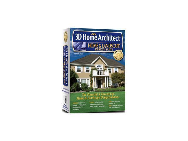 Encore software 3d home architect home landscape design for Architect 3d home landscape design